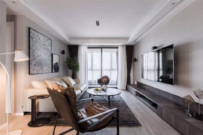 2室1卫1厅100平米现代简约风格