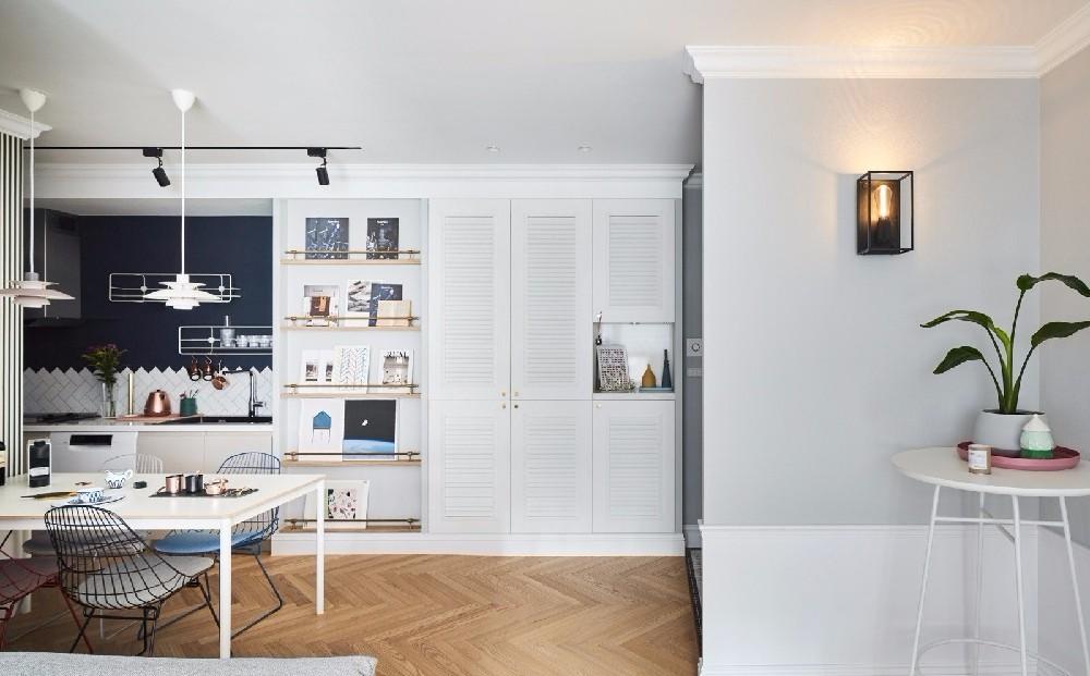 2室1卫1厅79平米现代风格