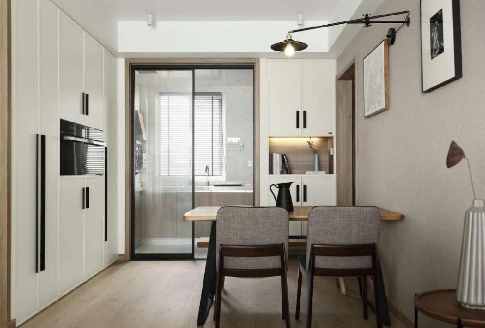 2室1卫1厅120平米简约风格