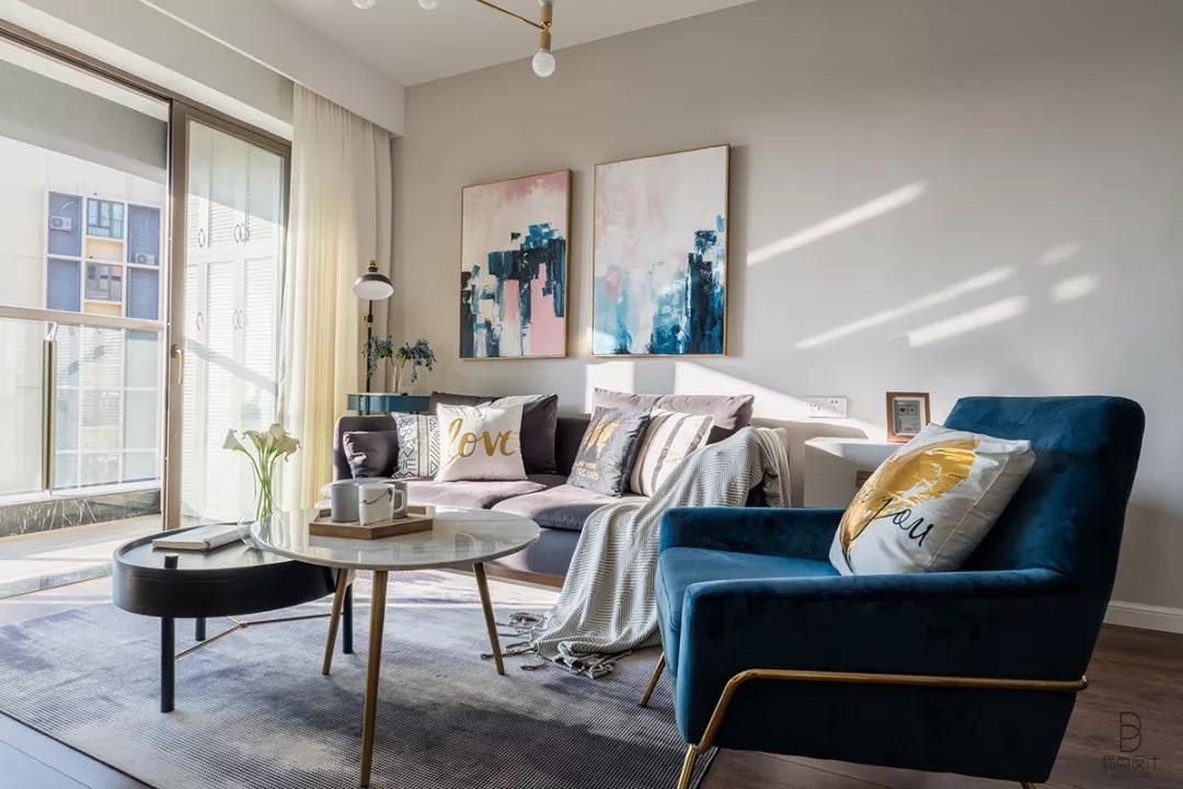 2019北欧90平米装饰设计 2019北欧三居室装修设计图片