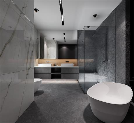 2019现代卫生间装修图片 2019现代洗漱台装饰设计