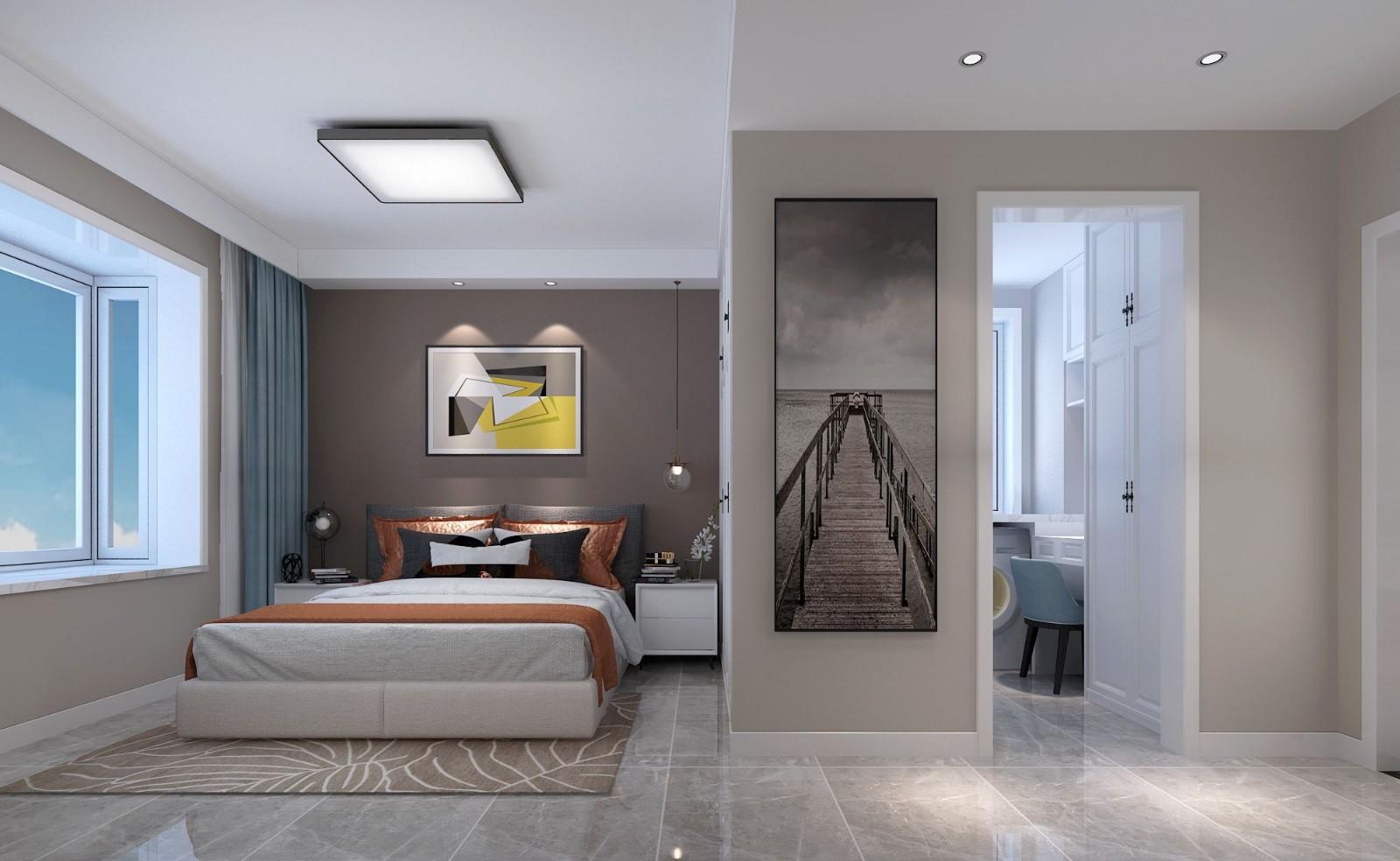 2020現代臥室裝修設計圖片 2020現代窗臺裝修設計圖片