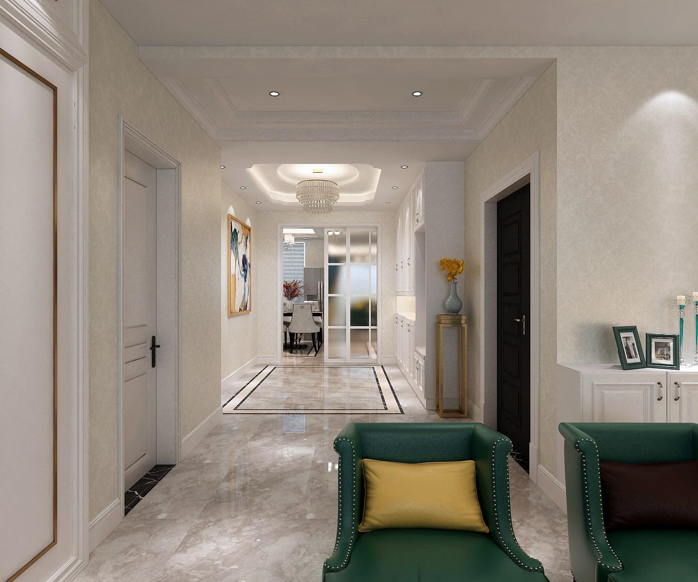 2020現代簡約客廳裝修設計 2020現代簡約隔斷圖片