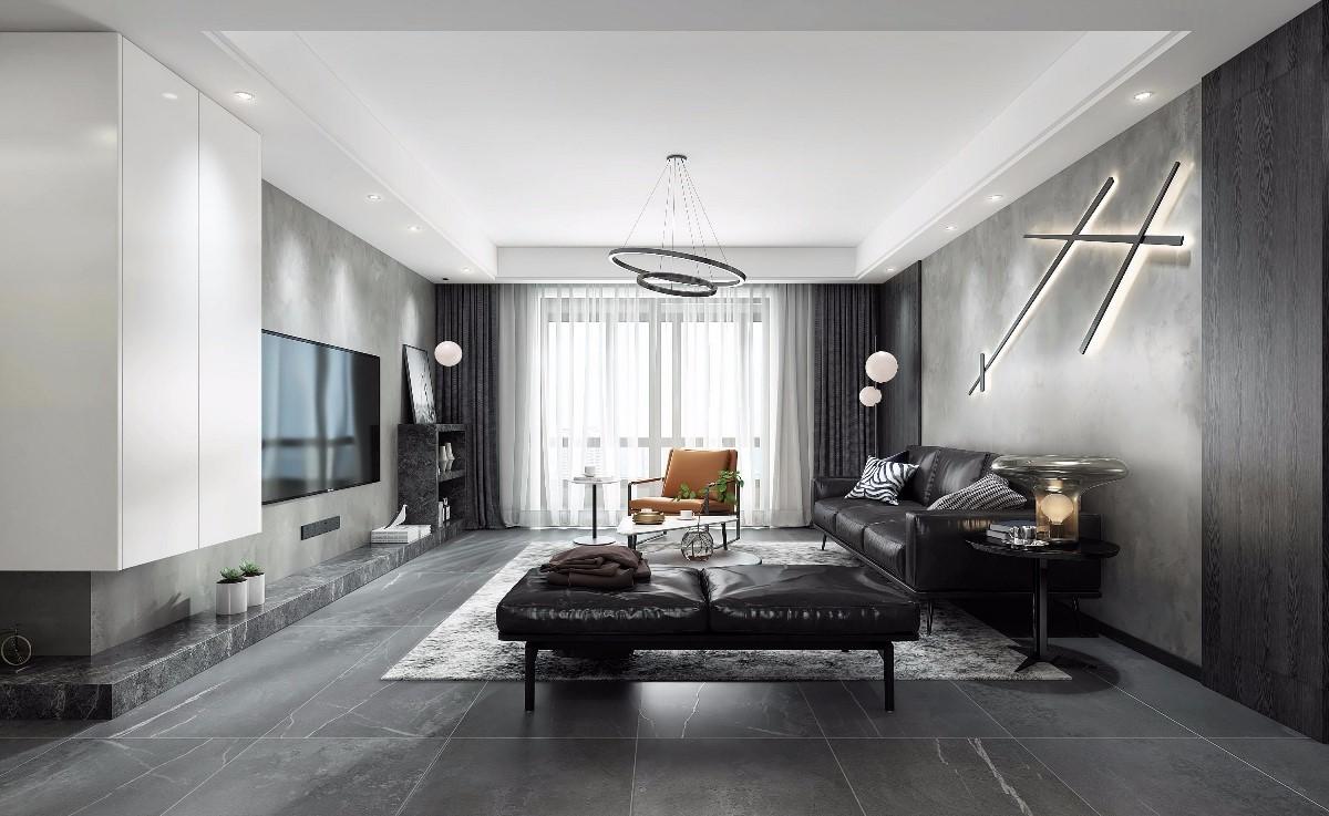2021后现代90平米装饰设计 2021后现代套房设计图片