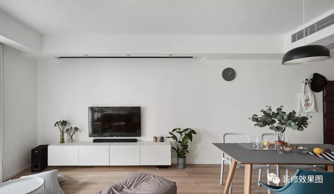 98㎡舒適北歐3室2廳,清新而明朗的愜意生活