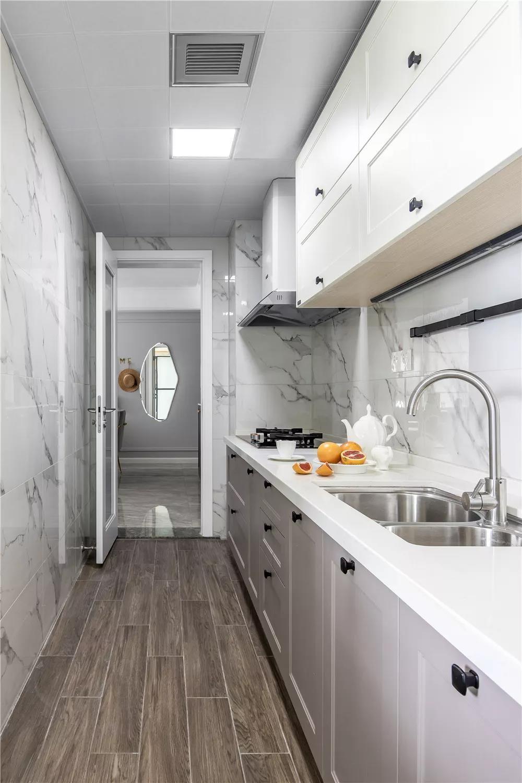 2020法式厨房装修图 2020法式厨房岛台装饰设计