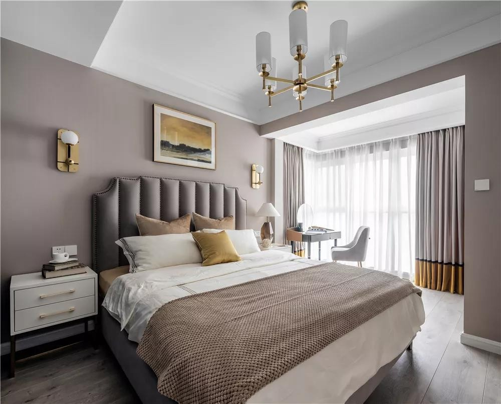 2020法式卧室装修设计图片 2020法式背景墙装饰设计