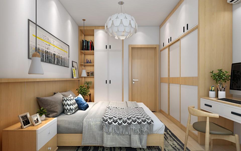 2020日式卧室装修设计图片 2020日式衣柜装修效果图片