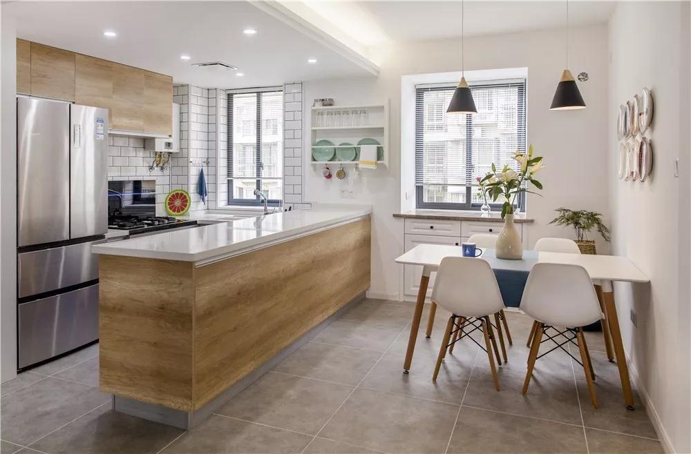 2020北歐廚房裝修圖 2020北歐廚房島臺裝飾設計