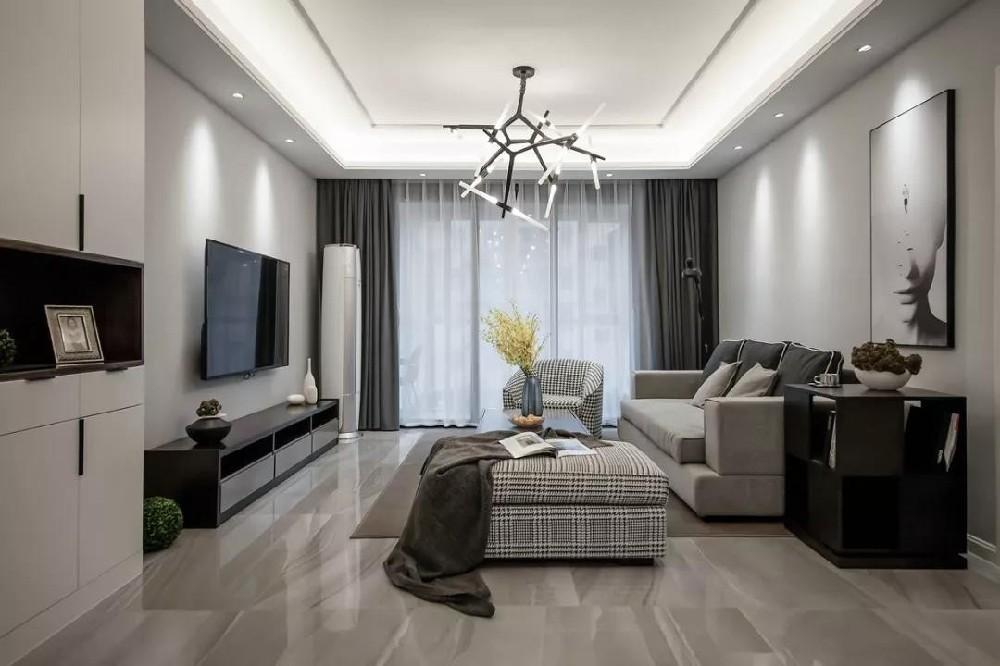 2021后现代150平米效果图 2021后现代四居室装修图