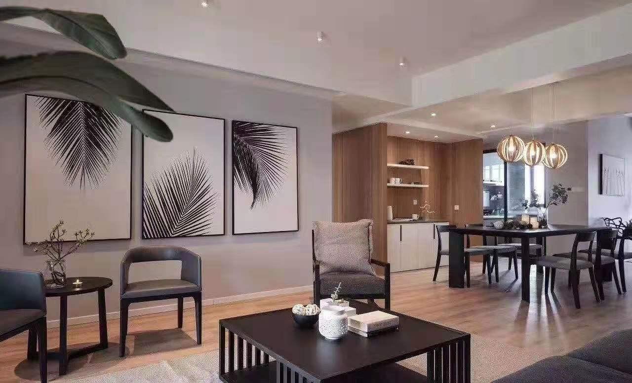 2020简约客厅装修设计 2020简约茶几效果图
