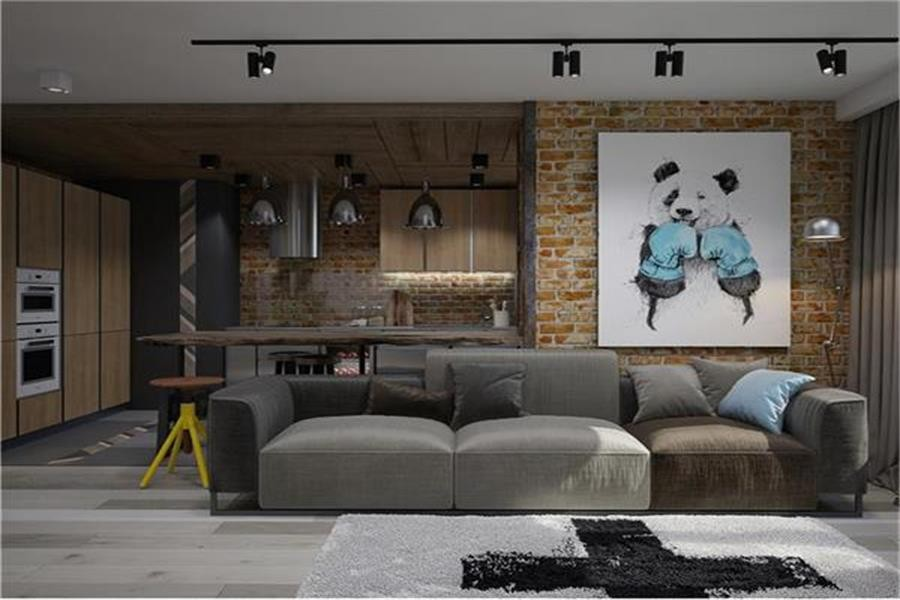 2020工业150平米效果图 2020工业套房设计图片