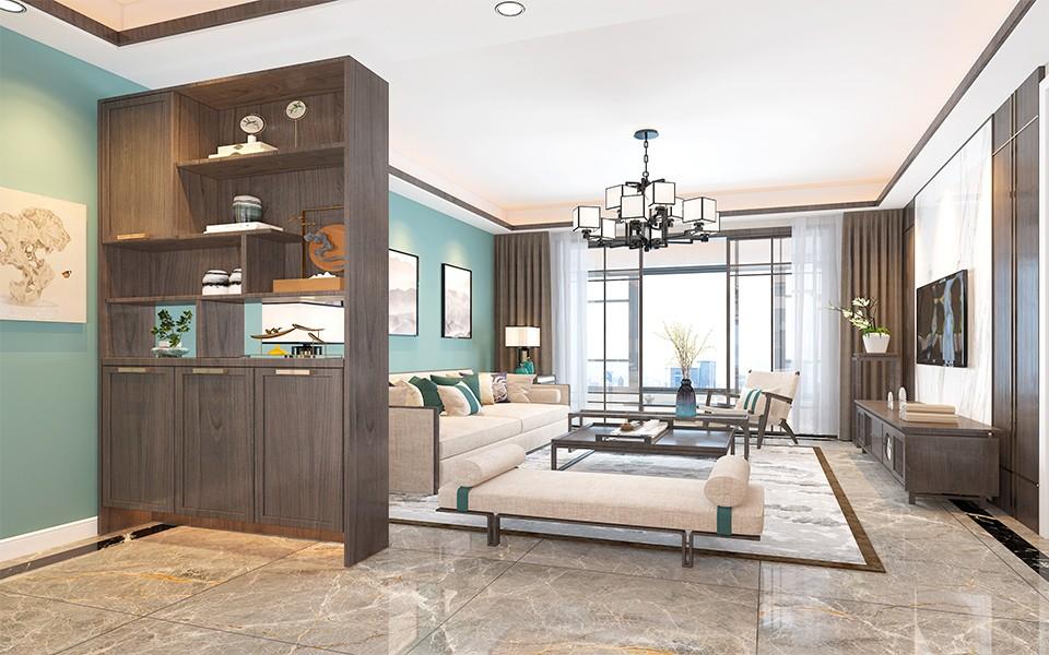 2020新中式90平米装饰设计 2020新中式套房设计图片