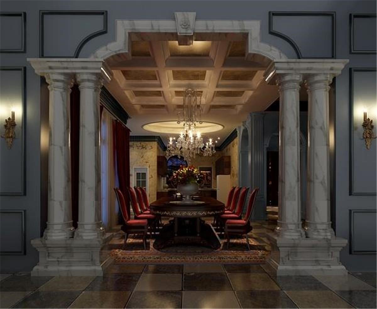 2020新古典300平米以上裝修效果圖片 2020新古典別墅裝飾設計