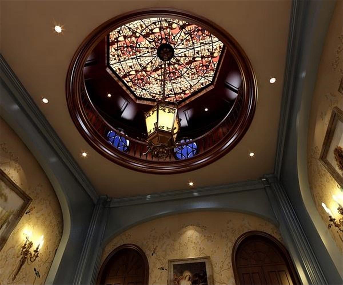 2020新古典地下室效果图 2020新古典吊顶图片