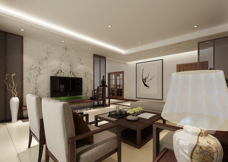 2020东南亚客厅装修设计 2020东南亚电视背景墙装修设计图片