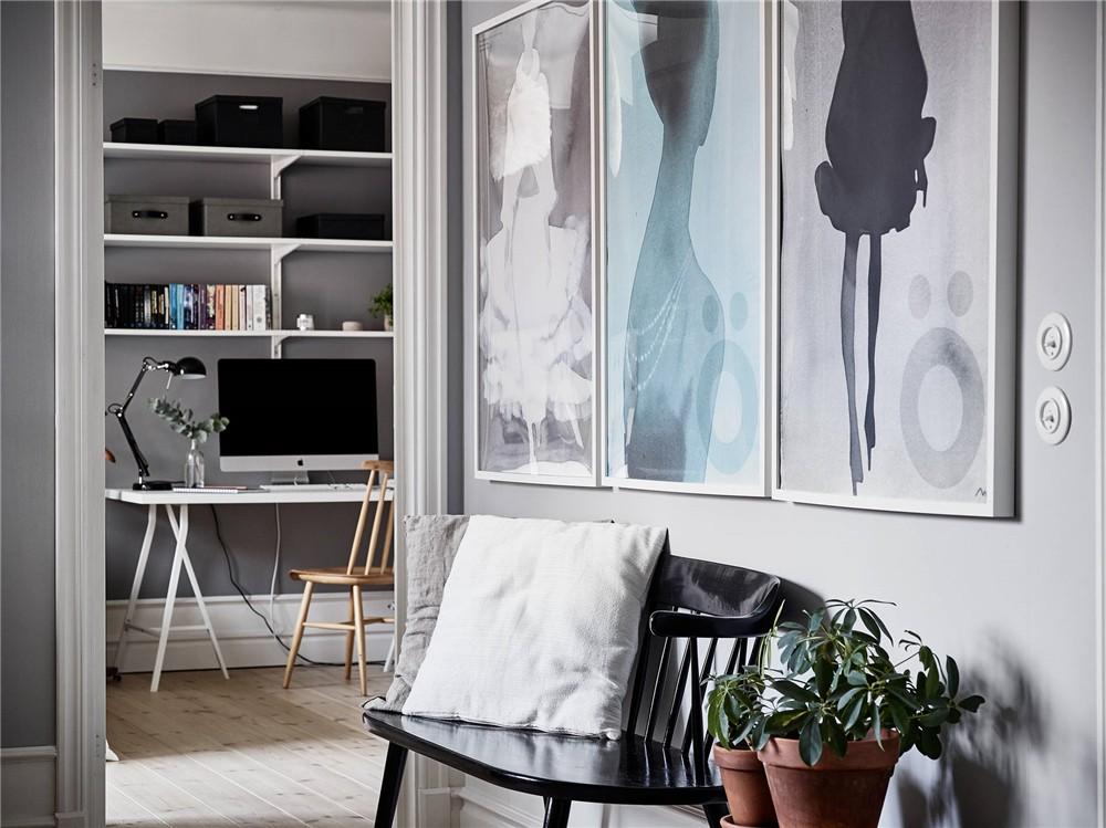 2020北欧卧室装修设计图片 2020北欧过道装修效果图大全