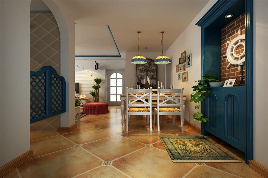 2020地中海110平米装修设计 2020地中海套房设计图片