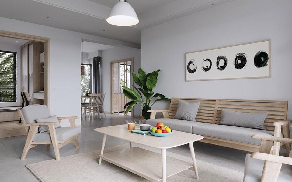 2020日式90平米裝飾設計 2020日式二居室裝修設計