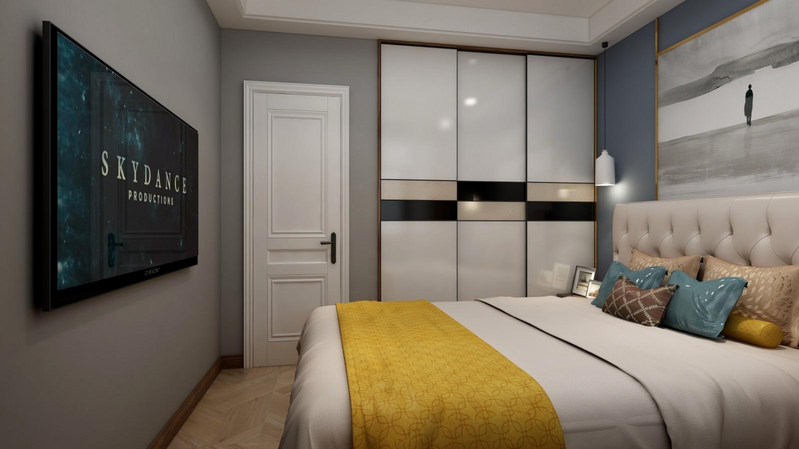 2020现代卧室装修设计图片 2020现代衣柜图片