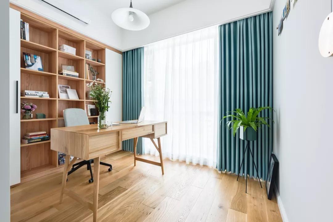 2020北欧书房装修设计 2020北欧书架装修图