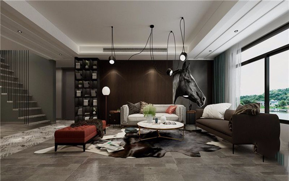2020现代简约300平米以上装修效果图片 2020现代简约别墅装饰设计