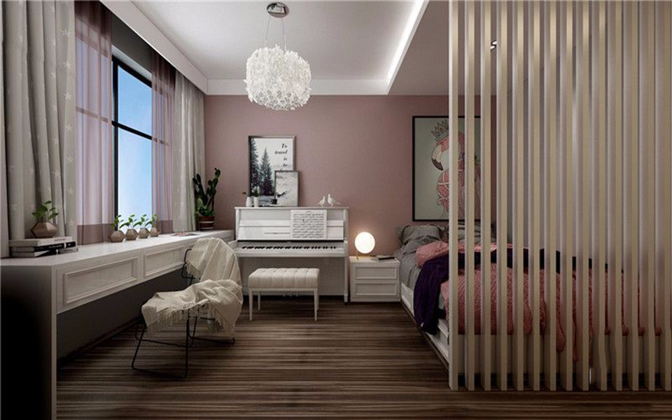 2021现代简约卧室装修设计图片 2021现代简约梳妆台装修设计