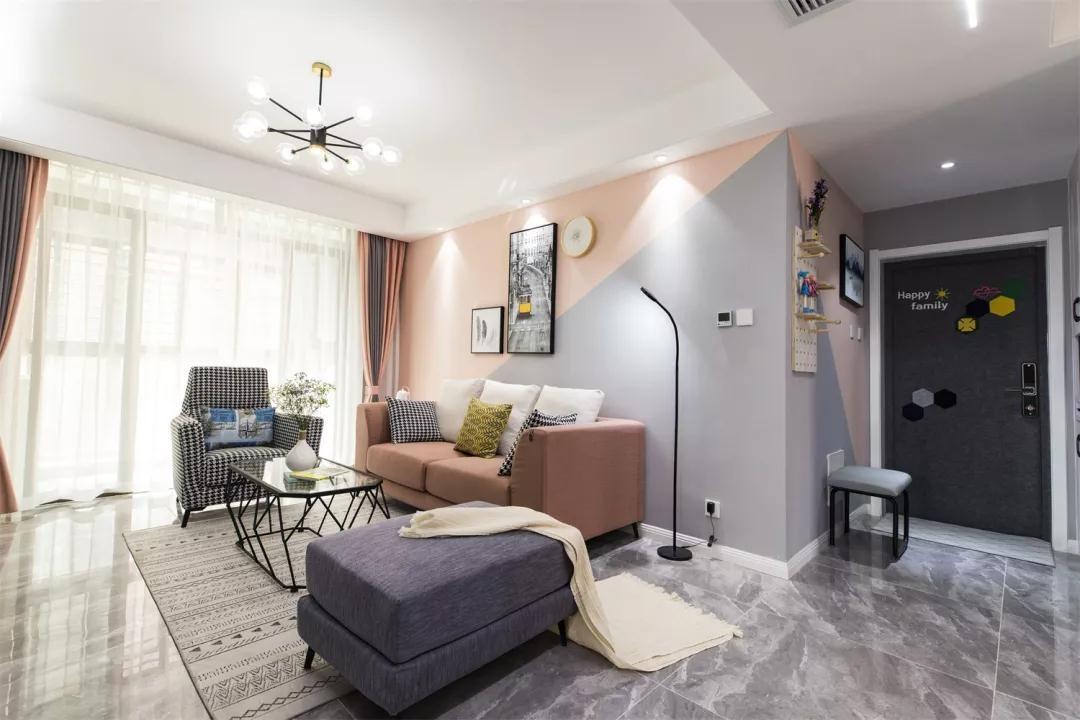 2021现代简约70平米设计图片 2021现代简约套房设计图片