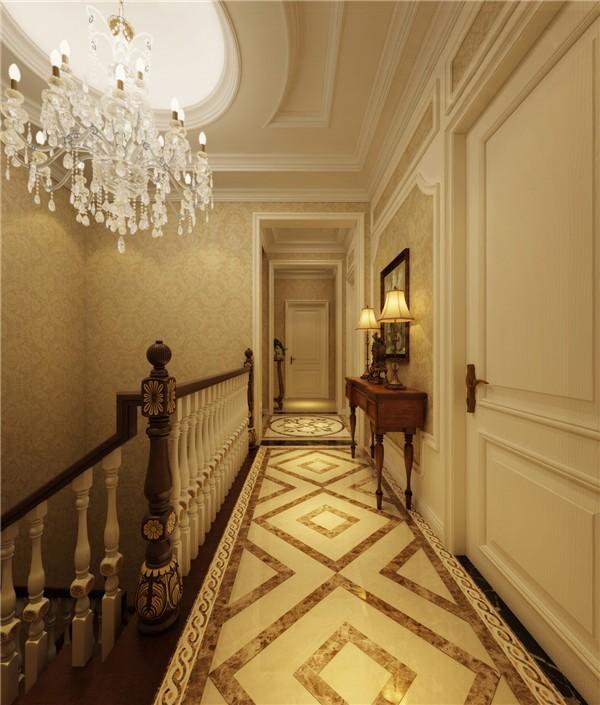 2020欧式外景装修效果图大全 2020欧式走廊装修设计图片