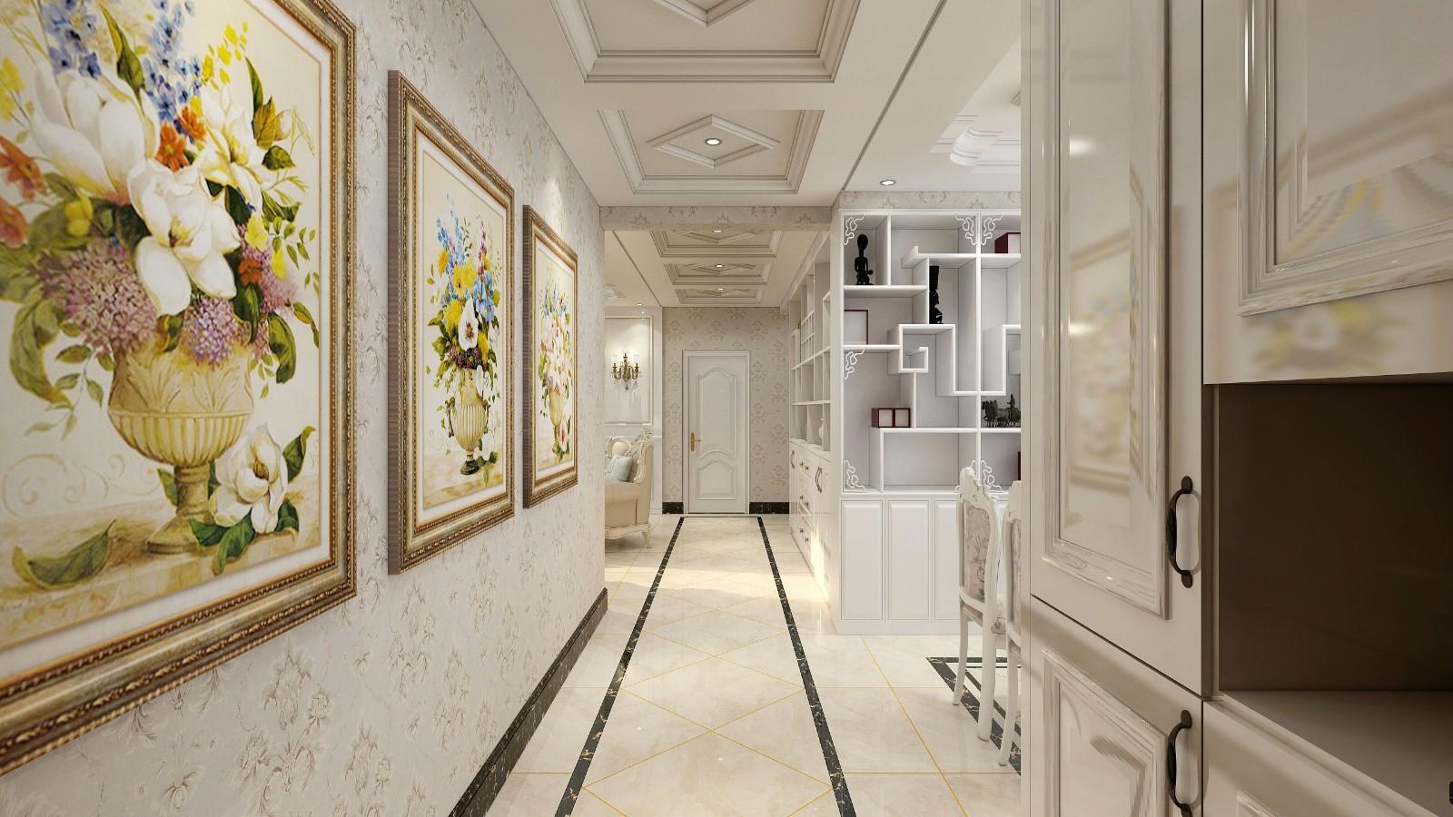 2020简欧客厅装修设计 2020简欧过道图片