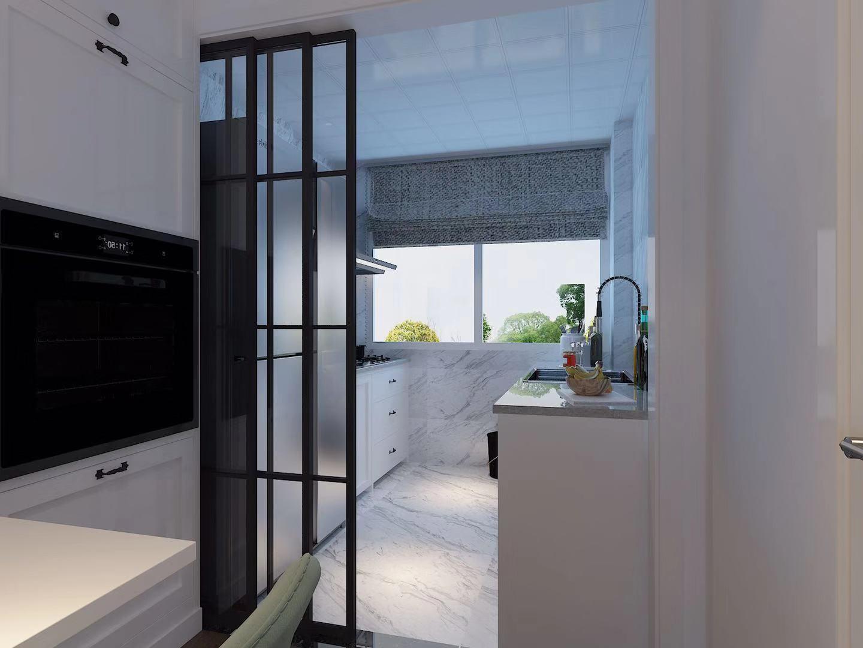 2020现代简约厨房装修图 2020现代简约窗台图片
