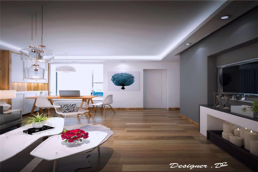 2020北欧90平米装饰设计 2020北欧套房设计图片