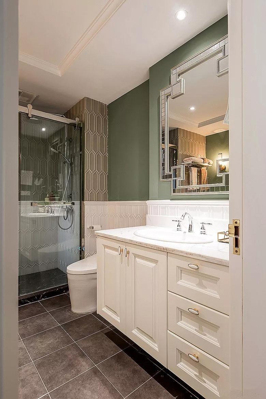 2020美式衛生間裝修圖片 2020美式洗漱臺裝飾設計