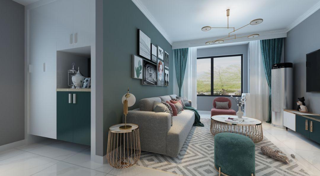 2020现代客厅装修设计 2020现代灯具图片