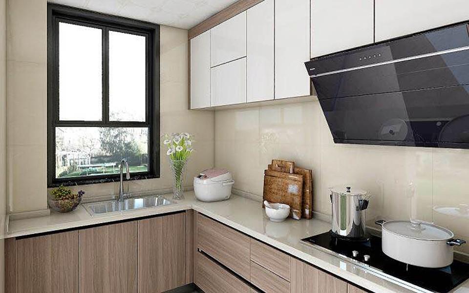 2020新中式廚房裝修圖 2020新中式灶臺裝修圖片