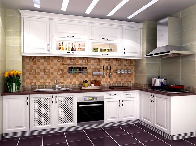 2020地中海厨房装修图 2020地中海橱柜装修效果图片