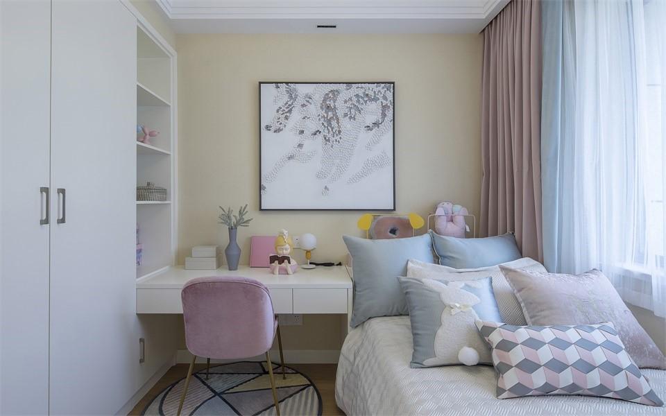 2020现代儿童房装饰设计 2020现代衣柜设计图片
