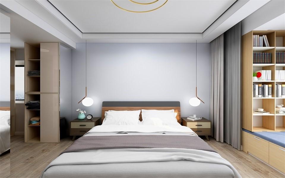 2020北欧卧室装修设计图片 2020北欧灯具装饰设计