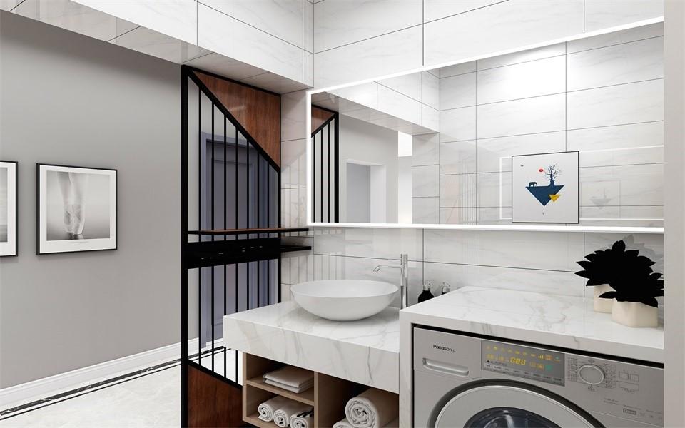 2020現代衛生間裝修圖片 2020現代隔斷裝飾設計
