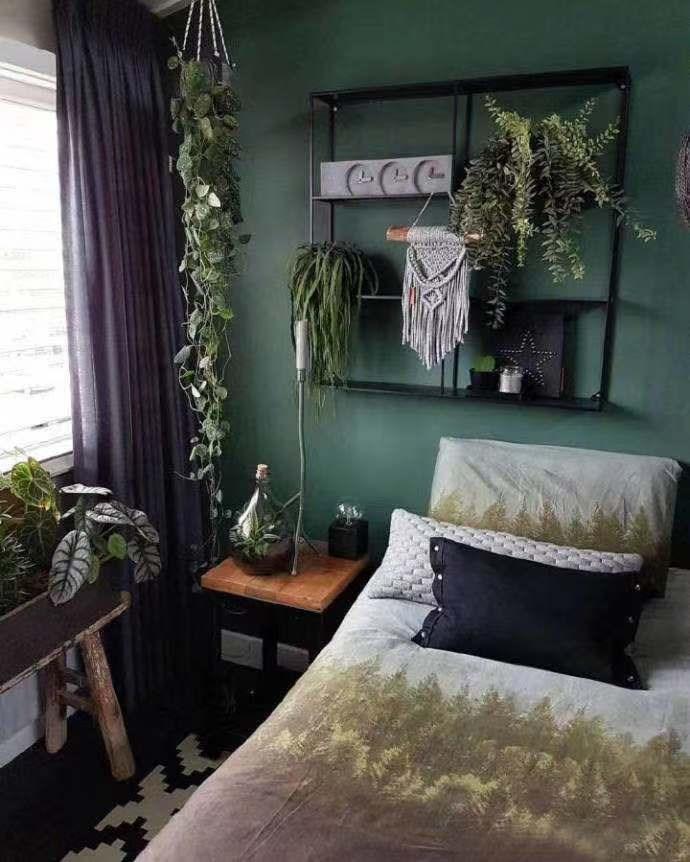 2021复古卧室装修设计图片 2021复古床图片