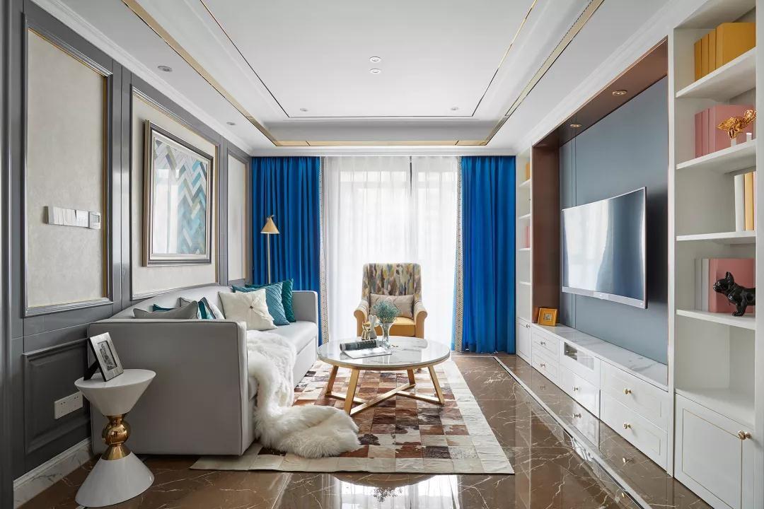 2020新古典90平米裝飾設計 2020新古典套房設計圖片