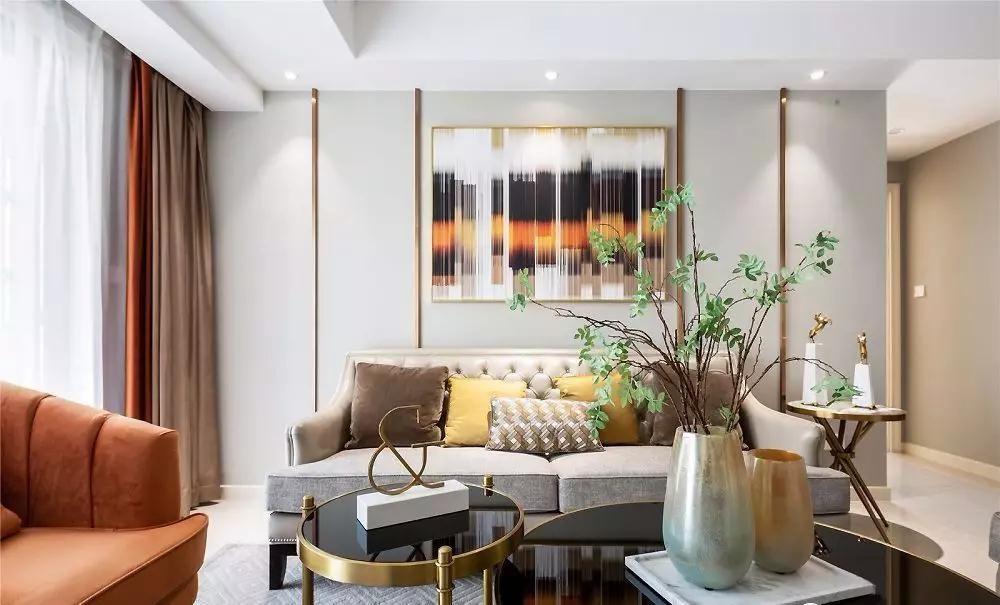 2020美式150平米效果图 2020美式套房设计图片