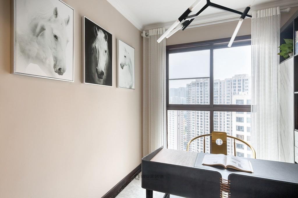 2020现代书房装修设计 2020现代背景墙装修效果图片
