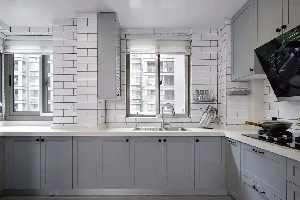 2020北欧厨房装修图 2020北欧橱柜装修效果图片