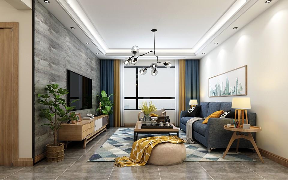 2020北歐90平米裝飾設計 2020北歐一居室裝飾設計