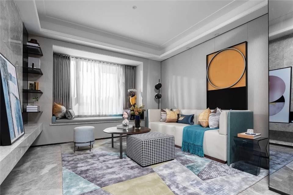 2020混搭客厅装修设计 2020混搭飘窗装饰设计