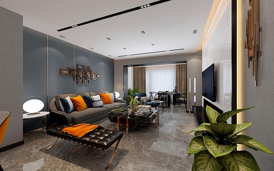 2021宜家客厅装修设计 2021宜家背景墙图片