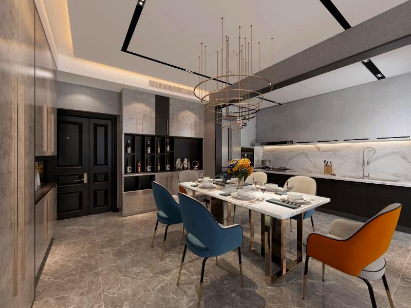 2021宜家餐厅效果图 2021宜家博古架装饰设计