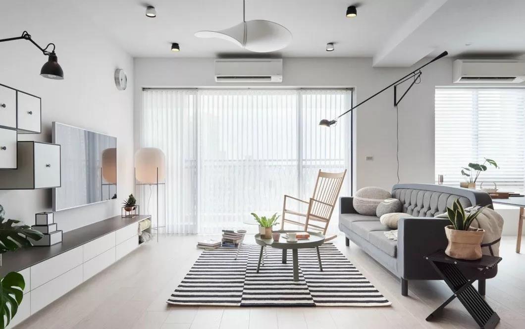 3室1卫2厅92平米北欧风格