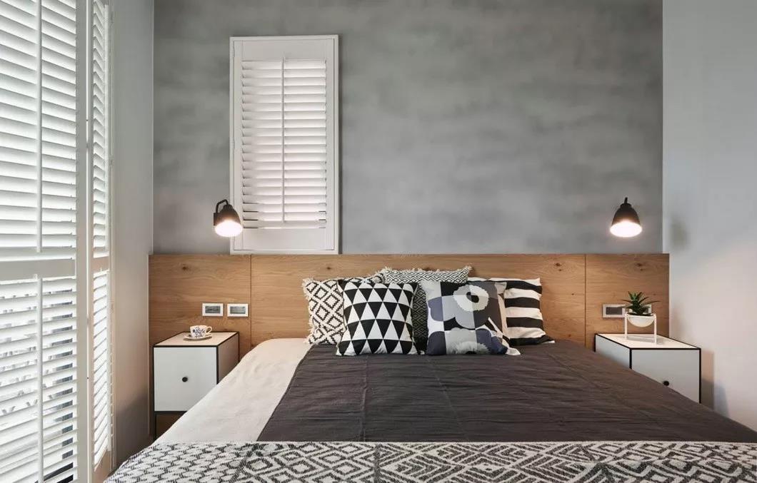 2020北欧卧室装修设计图片 2020北欧床图片